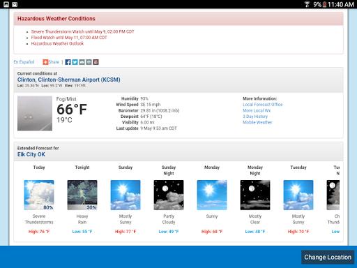 Weather Radar Widget screenshot 10