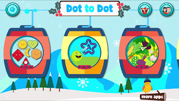Dot to dot Game - Connect the dots ABC Kids Games