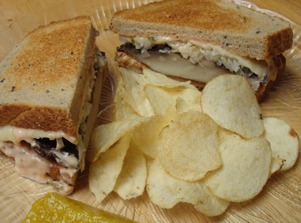 Portabella Reuben Sandwich Recipe