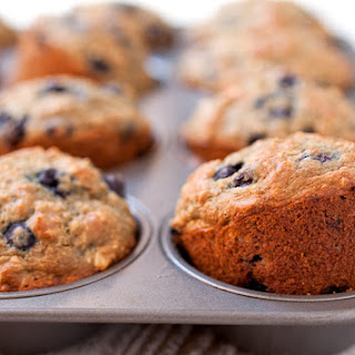 Oatmeal & Blueberry Muffins for Babies