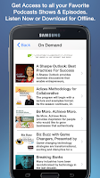Screenshot of VoiceAmerica Radio Network