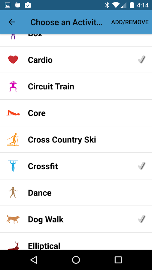 iCardio 4 Workout Tracker & Heart Rate Training- screenshot
