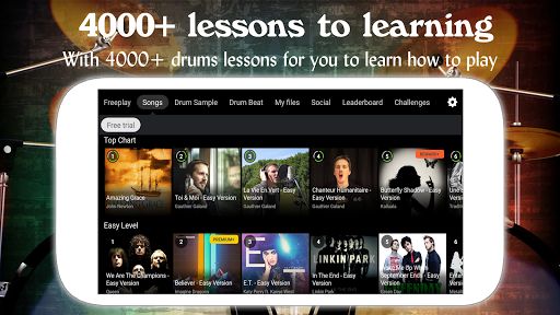 Drum Live: Real drum set drum kit music drum beat 4.1 screenshots 2