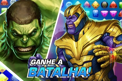 MARVEL Puzzle Quest: Venha lutar com super-heróis! Screenshot