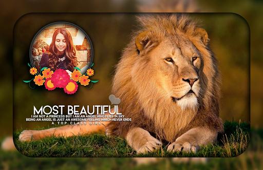Lion Photo Editor ss3