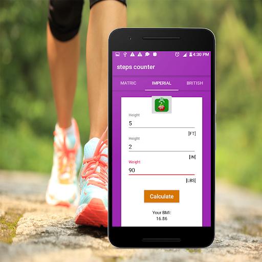 Steps Counter-Fitness & Calorie Counter Pedometer 1.4 screenshots 5