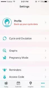 Period Tracker - Calendar - náhled