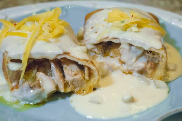 South-o-the-border Essentials:chicken Chimichangas Recipe
