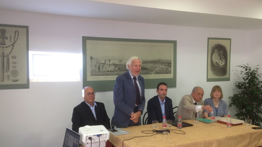 Julián Pérez Flores, Hermanfrid Schubart, Pedro Ridao, Osvaldo Arteaga y Anna María Roos.
