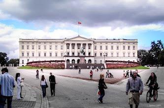 Photo: Die königliche Residenz wurde 1824-48 in Christiania / Oslo  erbaut