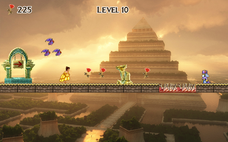 Princess Temple Train Games- screenshot