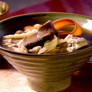Asian Mushroom Soup.