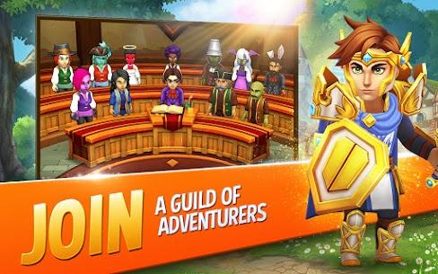 Shop Titans Mod Apk – Epic Idle Crafter, Build & Trade RPG 5