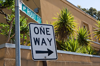 Photo: One way