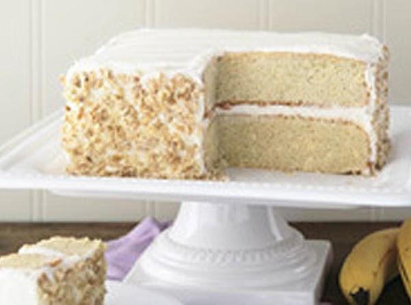 Banana-sour Cream Cake Recipe