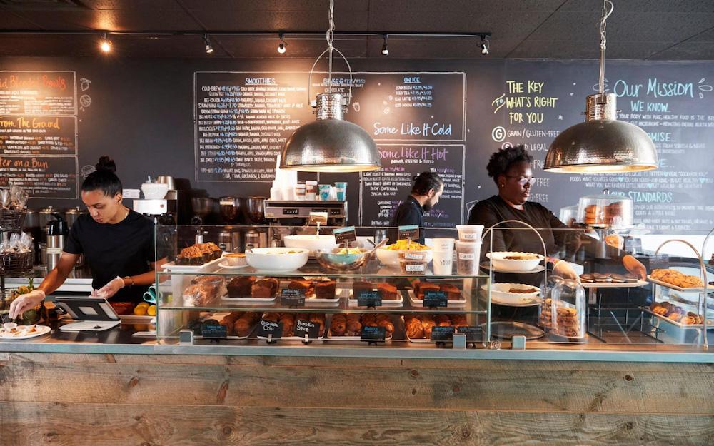 baristas in coffee shop