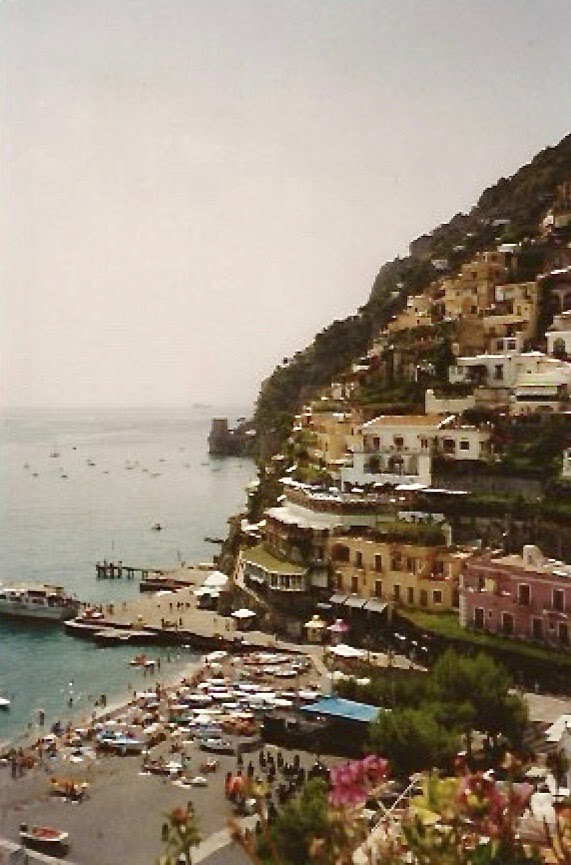 Romantic Italy, Positano…