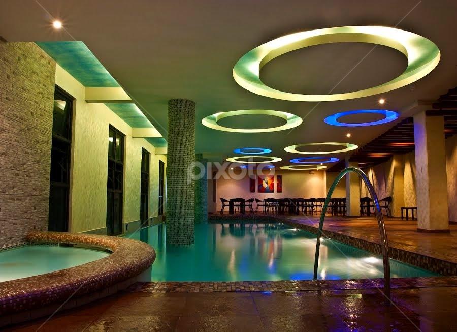 Indoor Pool by Mert Docdor - Buildings & Architecture Other Interior ( interior, building, indoor, pool, hotel, design )