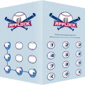 AppLock Theme Baseball