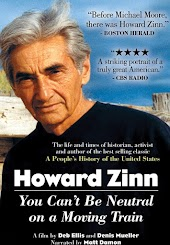 Howard Zinn- You Can't Be Neutral On A Moving Train