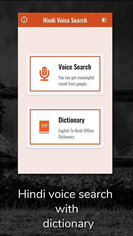 Hindi Voice Search- screenshot