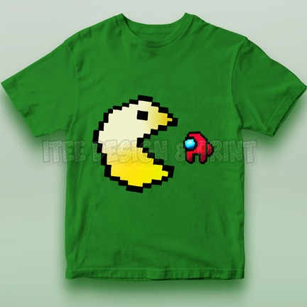 Pac-Man Game Among Us Impostor 10