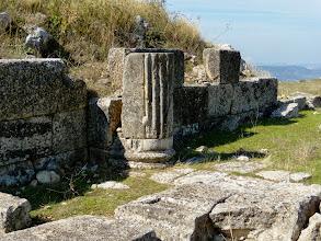 Photo: Byllis, Theatre 3rd century BC