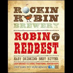 Logo of Rockin Robin Robin Redbest