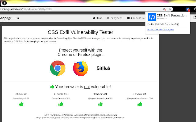 CSS Exfil Protection