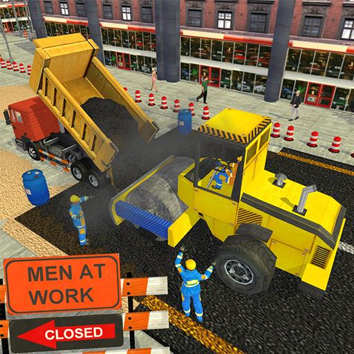 Real Road Construction Sim: City Road Builder Game
