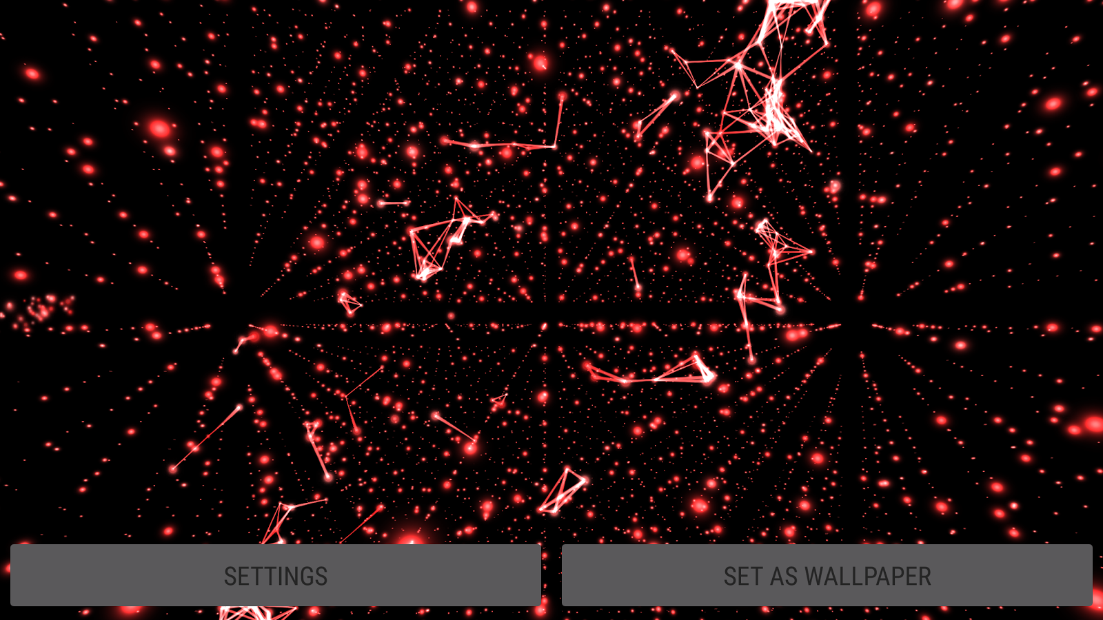 Particles Best 3d Wallpaper For Pc Android Iphone: Parallax Infinite Particles 3D Live Wallpaper