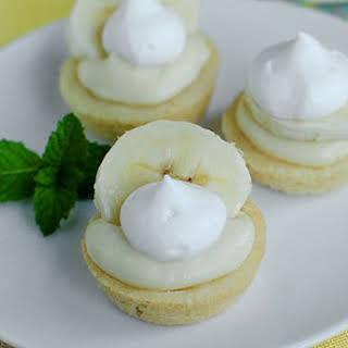 Mini Banana Cream Pies.