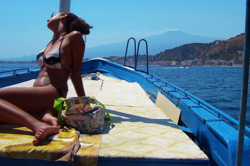 """""""Lei è il mare ed io la barca..."""" di rosarionotaro@gmail.com"""