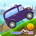 Beepzz Hill - racing game for kids icon
