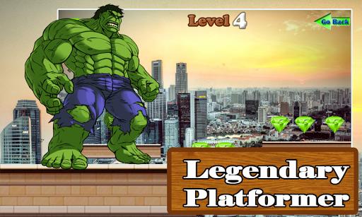 Super Hulk Running