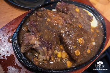 盤燒厚切牛排