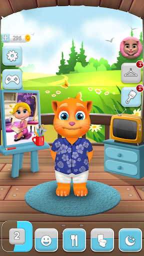 My Talking Cat Tommy - Virtual Pet apkpoly screenshots 4