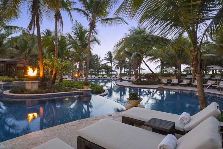 The St. Regis Bahia Beach Resort in Puerto Rico offers 139 units in plantation-style buildings.