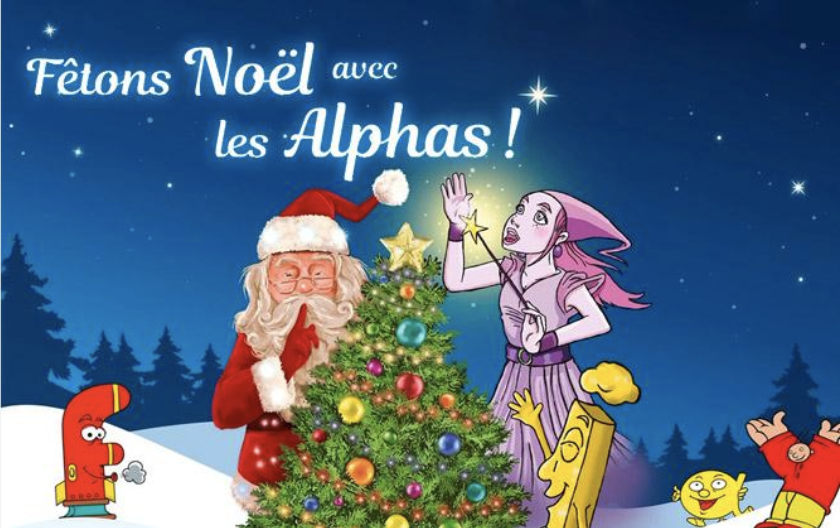 Fêtons Noël avec les Alphas activités vacances de Noël