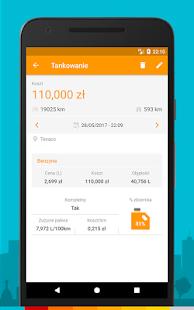 Drivvo - Zarządzanie pojazdami, paliwo i koszty Screenshot