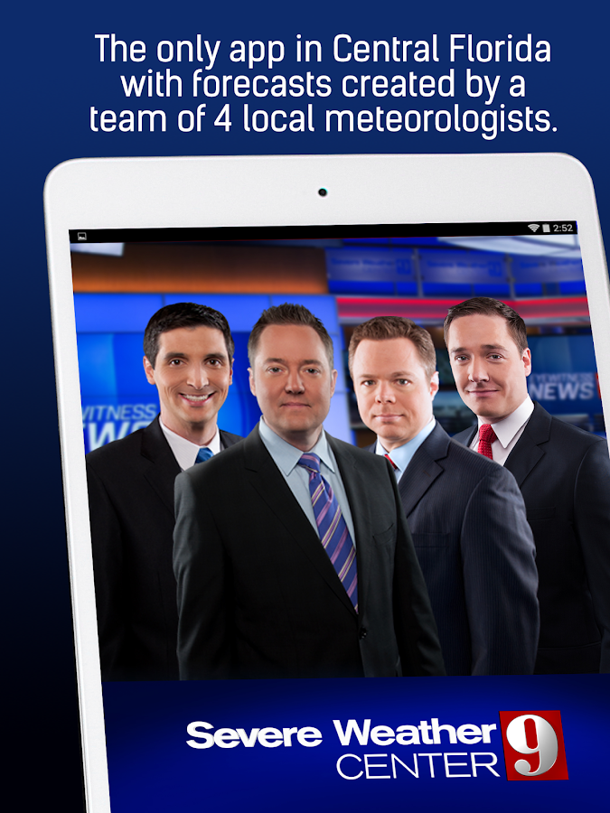 WFTV Channel 9 Weather- screenshot