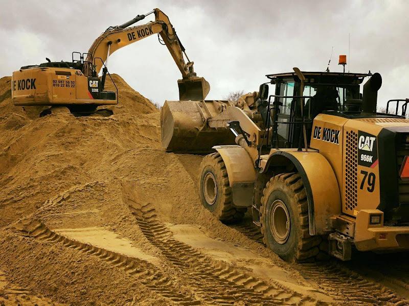 Levering zand