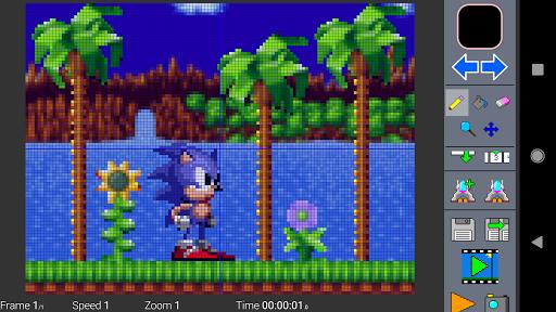 Pixel Studio - Art Animation MP4 GIF 1.8.5 Screenshots 1