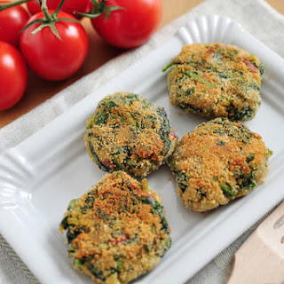 White Bean and Spinach Burgers.