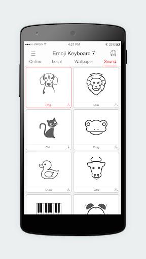 Emoji Keyboard 7 - Cute Sticker, GIF, Emoticons 7.93 screenshots 5