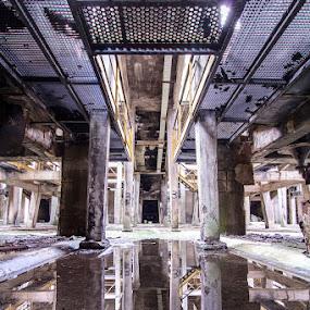 Ex miniera mercurio by Federica Violin - Backgrounds Industrial ( miniera, urbex, mercurio, abbadia san salvatore, decay, abbandono )