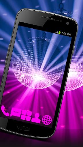 Disco Music Theme GO ADW APEX