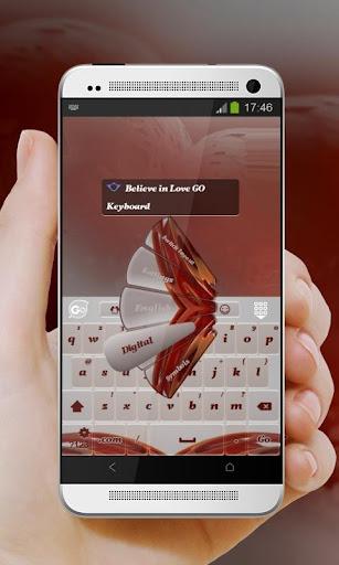免費下載個人化APP|愛を信じます GO Keyboard app開箱文|APP開箱王