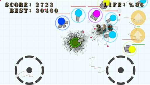 Diep Tank War - fun .IO game