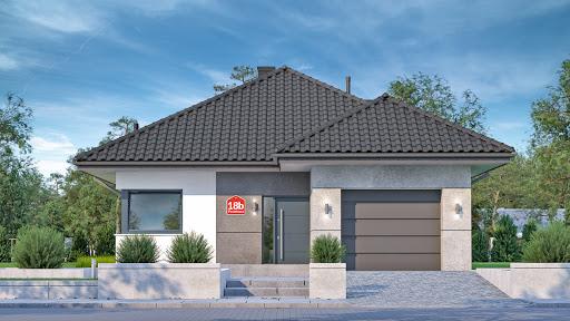 projekt Dom przy Pastelowej 18 bis